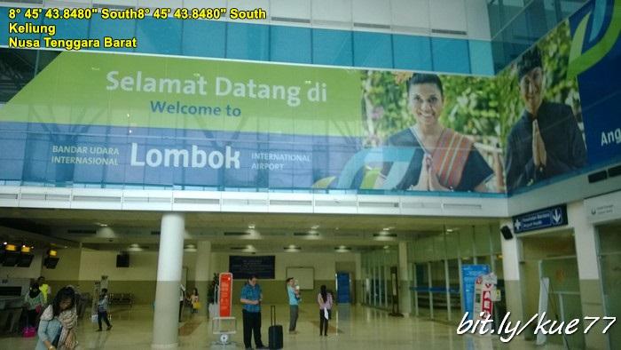 Berakhir di Airport Lombok Praya