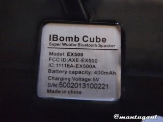 Info produk iBomb Cube