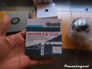Manual iBomb Thunderball