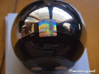 Audio in, micro usb untuk charge dan Micro SD slot iBomb Thunderball