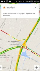 Google Maps with traffic