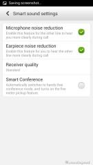 Smart sound settings