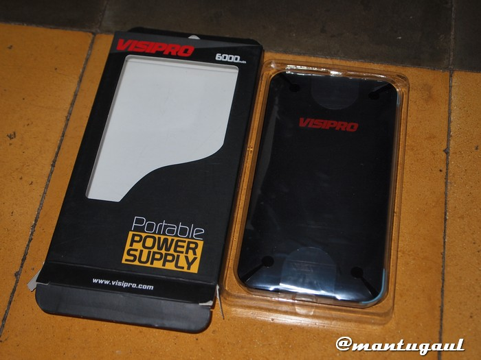 Unboxing Powerbank Visipro 6000