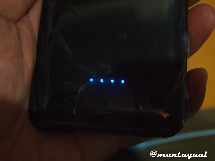 4 lampu LED Powerbank Visipro 6000