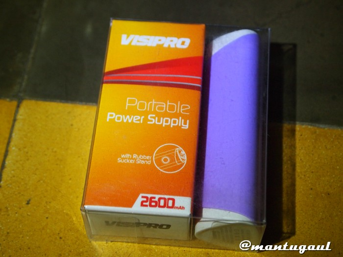 Powerbank Visipro 2600mAh
