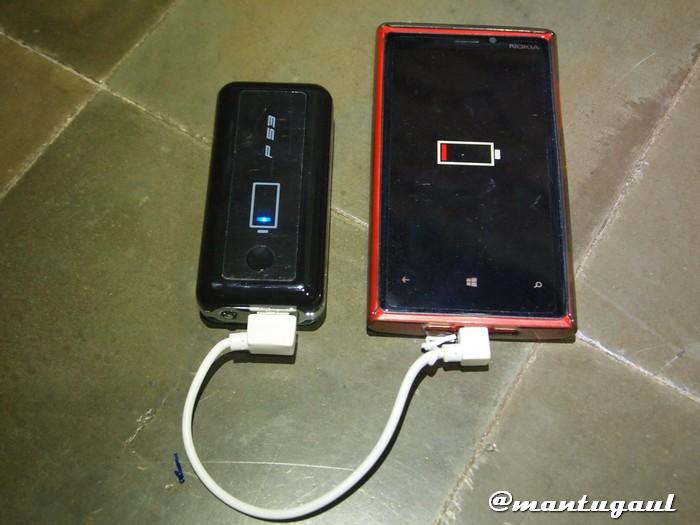 Mengisi Nokia Lumia 920