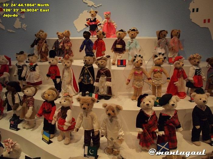Teddy Bear Museum di Jeju