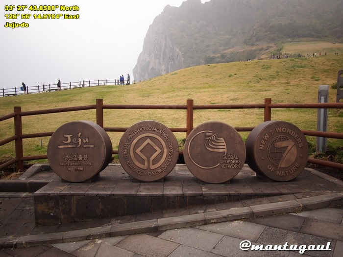 New7Wonders Of Jeju Korea, Seongsan Ilchulbong