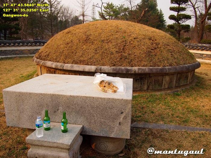 Nami Island, kuburan Jenderal Nami