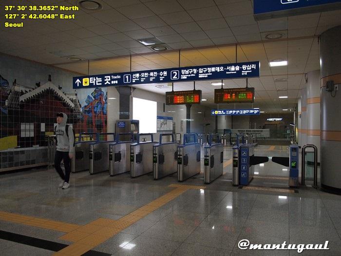 MRT daerah Gangnam