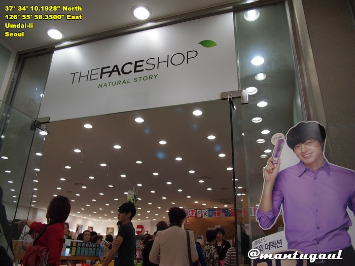 The Face Shop toko kosmetik