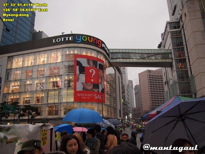 Shooping Area, Myeongdong street