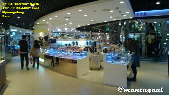 Shopping area, Dongdaemun