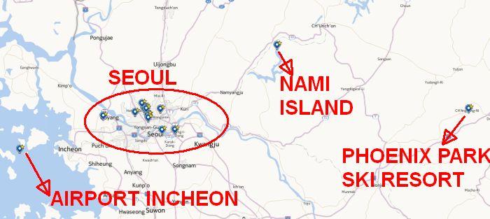 Peta Korea