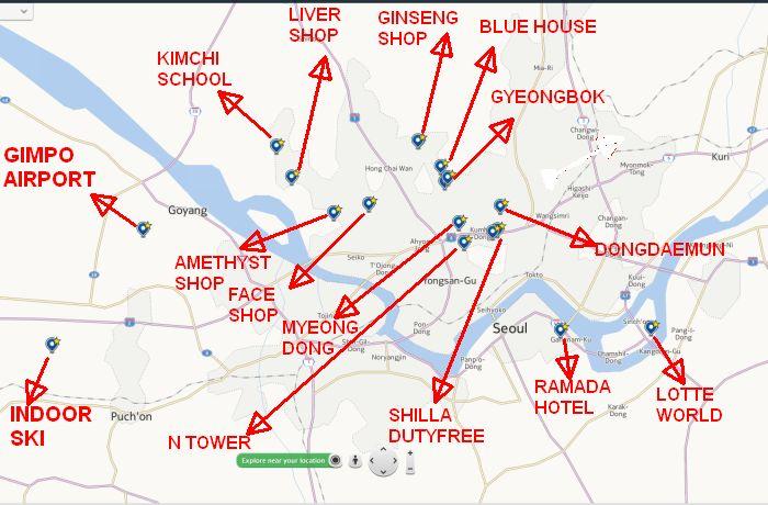 Peta Seoul
