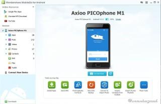 Info picophone M1 berdasarkan Wondershare
