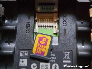 Pasang micro SD