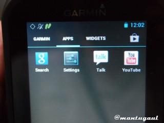 3 Bagian, aplikasi garmin, apps android dan widgets