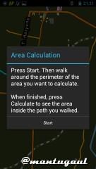 Mengukur luas area