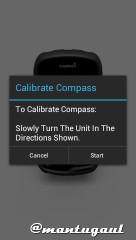 Kalibrasi kompas