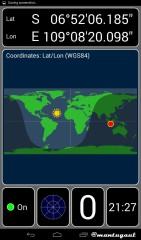 Konek ke Bluetooth GPS i747