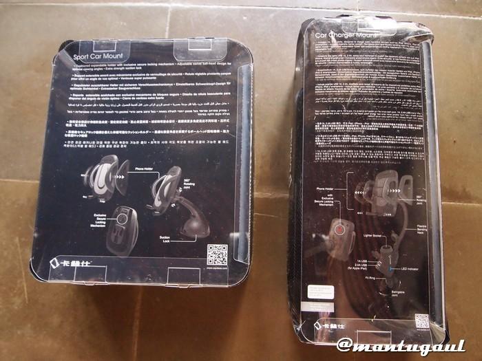 Kotak Capdase Sport Car Mount & Racer Mount T2
