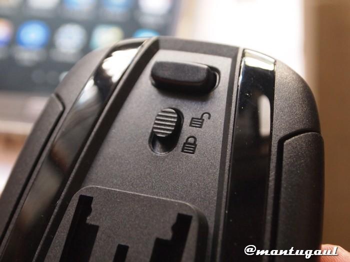 Pembuka holder dan pengunci holder