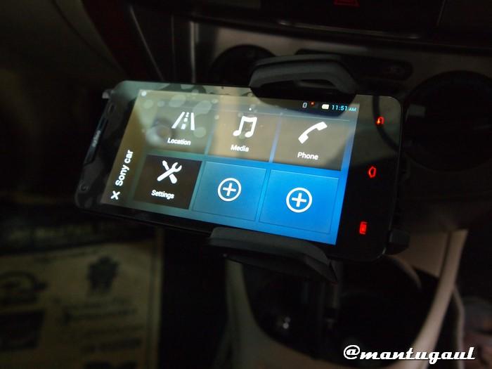 Dipasang dengan Axioo Picophone M1