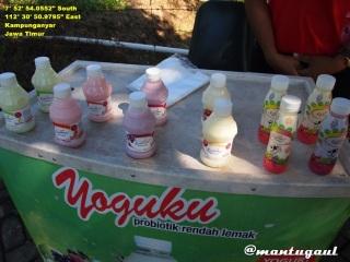 Yogurt buatan Kusuma Agrowisata