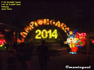 Lampion Garden BNS