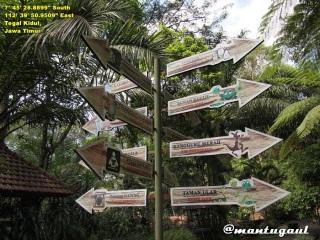 Direction post