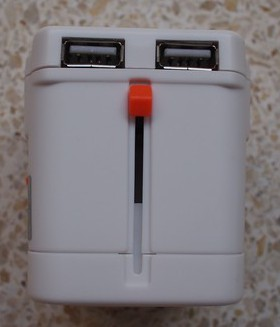 2 USB port