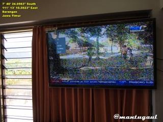 TV LCD kamar utama