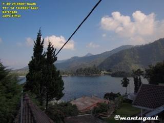 Pemandangan dari Villa Azalia