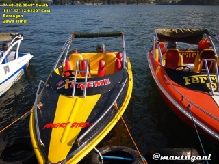 Siap-siap naik speedboat