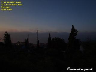 Pemandangan subuh