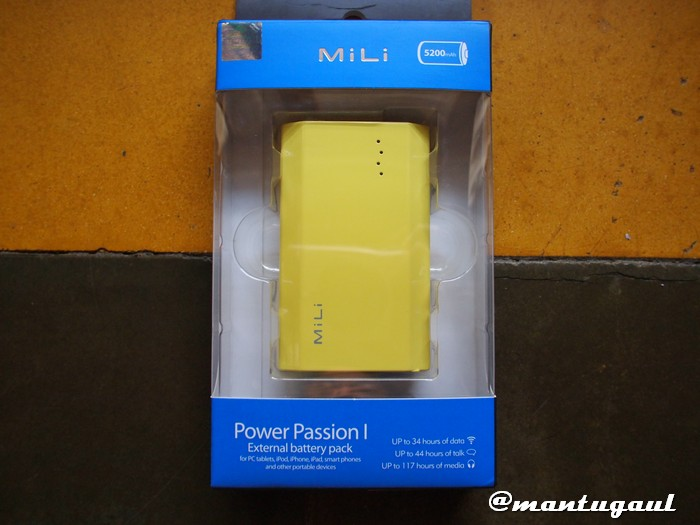 Powerbank Mili Power Passion