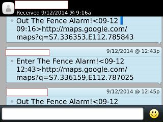 SMS Geofence