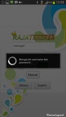 Melacak dengan aplikasi Android