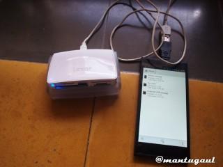 USB OTG dengan Card reader