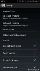 Audio profiles