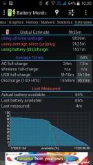 Status baterai