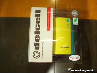 Kotak Powerbank Delcell Nitro  6000