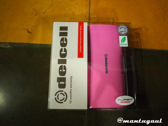 Kotak delcell Turbo 10000mAh