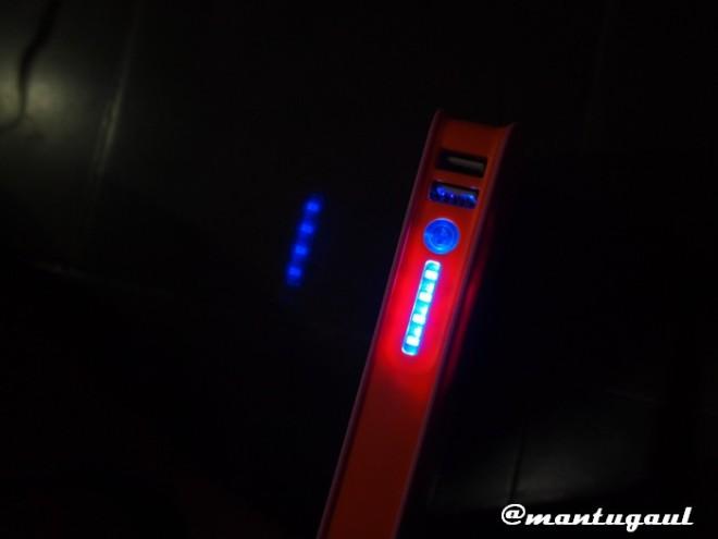 4 lampu indikator
