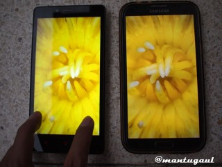 Perbandingan Redmi Note dan Samsung Galaxy Note 2