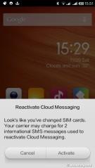 Warning pengiriman SMS internasional