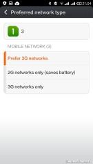 Preferred network