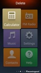 Simple Mode UI